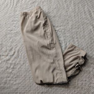 Chico's Side Leg Tie Crops Size Small